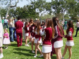 Picture of Estancia High School Cheer Squad